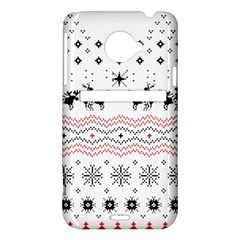 Ugly Christmas Humping HTC Evo 4G LTE Hardshell Case