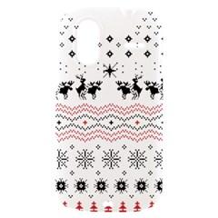 Ugly Christmas Humping HTC Amaze 4G Hardshell Case