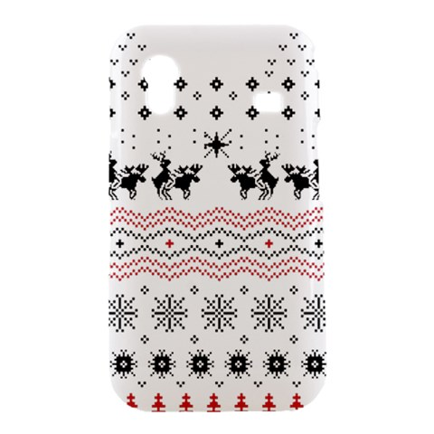 Ugly Christmas Humping Samsung Galaxy Ace S5830 Hardshell Case