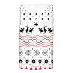 Ugly Christmas Humping Sony Xperia Arc