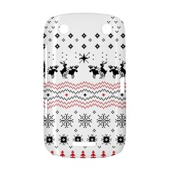 Ugly Christmas Humping BlackBerry Curve 9380