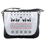 Ugly Christmas Humping Messenger Bags Front