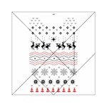 Ugly Christmas Humping Acrylic Tangram Puzzle (6  x 6 ) Front