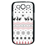 Ugly Christmas Humping Samsung Galaxy S III Case (Black) Front