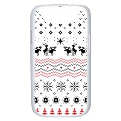 Ugly Christmas Humping Samsung Galaxy S III Case (White)