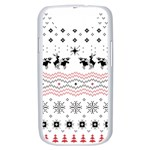 Ugly Christmas Humping Samsung Galaxy S III Case (White) Front