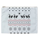 Ugly Christmas Humping Cosmetic Bag (XXL)  Front
