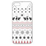 Ugly Christmas Humping Apple Seamless iPhone 5 Case (Clear) Front