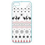 Ugly Christmas Humping Apple Seamless iPhone 5 Case (Color) Front