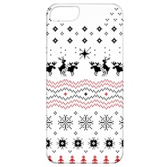 Ugly Christmas Humping Apple iPhone 5 Classic Hardshell Case