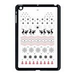 Ugly Christmas Humping Apple iPad Mini Case (Black) Front