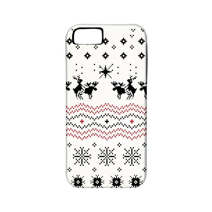 Ugly Christmas Humping Apple iPhone 5 Classic Hardshell Case (PC+Silicone)