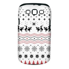 Ugly Christmas Humping Samsung Galaxy S Iii Classic Hardshell Case (pc+silicone)