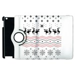Ugly Christmas Humping Apple iPad 3/4 Flip 360 Case Front