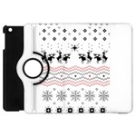 Ugly Christmas Humping Apple iPad Mini Flip 360 Case Front