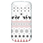 Ugly Christmas Humping Samsung Galaxy S3 S III Classic Hardshell Back Case Front