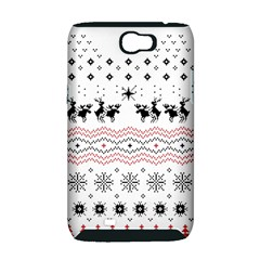 Ugly Christmas Humping Samsung Galaxy Note 2 Hardshell Case (PC+Silicone)