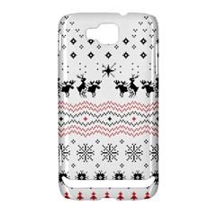 Ugly Christmas Humping Samsung Ativ S i8750 Hardshell Case