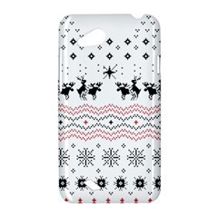 Ugly Christmas Humping HTC Desire VC (T328D) Hardshell Case