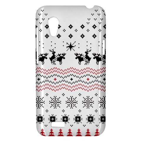 Ugly Christmas Humping HTC Desire VT (T328T) Hardshell Case