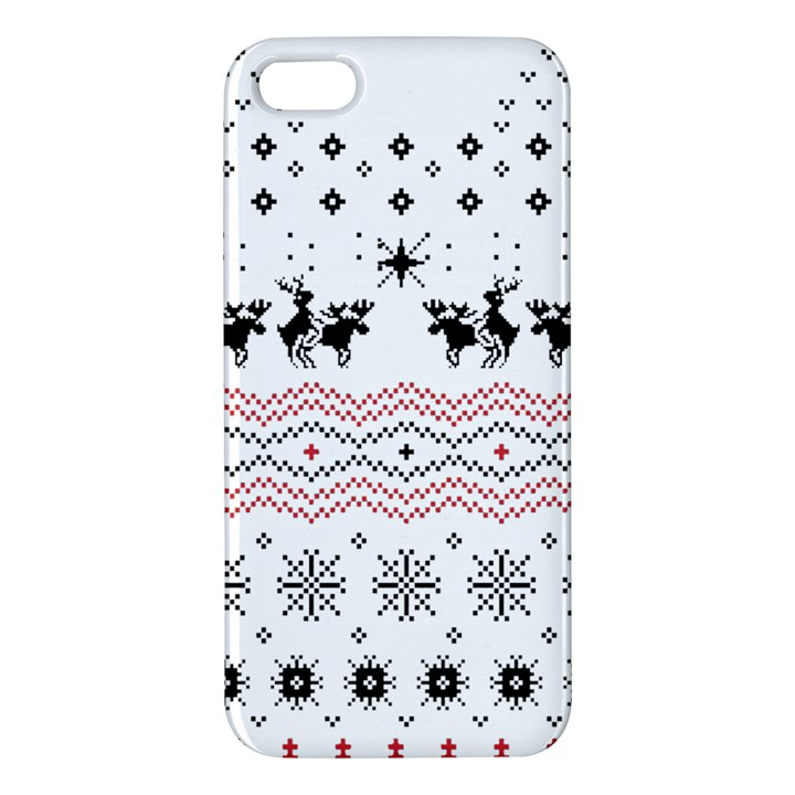 Ugly Christmas Humping Apple iPhone 5 Premium Hardshell Case