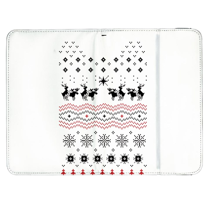 Ugly Christmas Humping Samsung Galaxy Tab 7  P1000 Flip Case