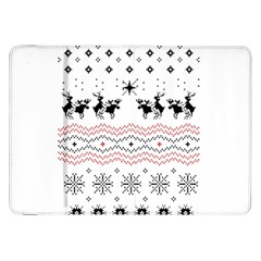 Ugly Christmas Humping Samsung Galaxy Tab 8.9  P7300 Flip Case