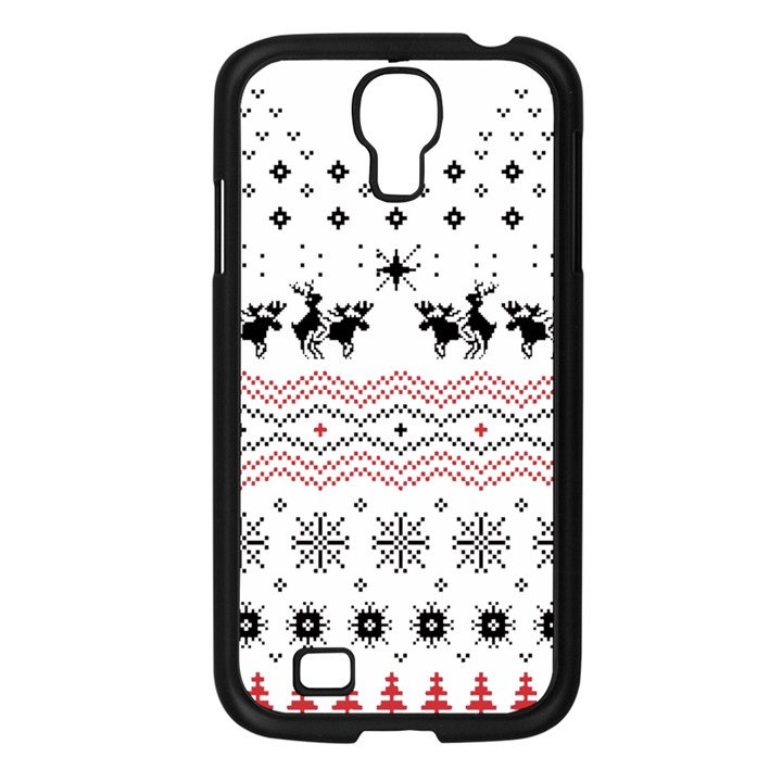 Ugly Christmas Humping Samsung Galaxy S4 I9500/ I9505 Case (Black)