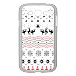 Ugly Christmas Humping Samsung Galaxy Grand DUOS I9082 Case (White) Front