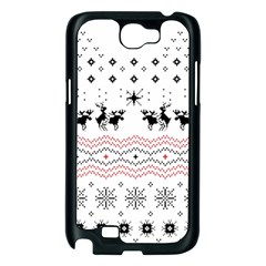 Ugly Christmas Humping Samsung Galaxy Note 2 Case (Black)