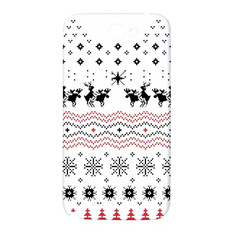 Ugly Christmas Humping Samsung Note 2 N7100 Hardshell Back Case