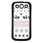 Ugly Christmas Humping Samsung Galaxy S3 Back Case (Black) Front