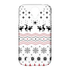 Ugly Christmas Humping Samsung Galaxy S4 Classic Hardshell Case (PC+Silicone)