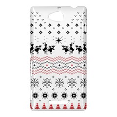 Ugly Christmas Humping Sony Xperia C (S39H)