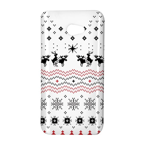 Ugly Christmas Humping HTC Butterfly S/HTC 9060 Hardshell Case