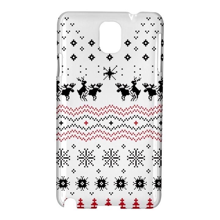 Ugly Christmas Humping Samsung Galaxy Note 3 N9005 Hardshell Case