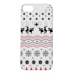 Ugly Christmas Humping Apple iPhone 5S/ SE Hardshell Case