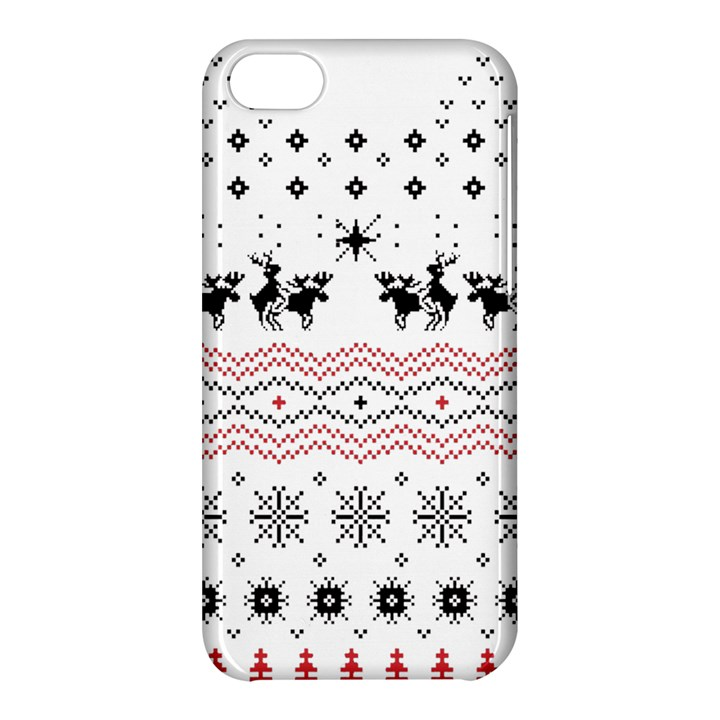 Ugly Christmas Humping Apple iPhone 5C Hardshell Case