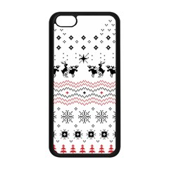 Ugly Christmas Humping Apple iPhone 5C Seamless Case (Black)