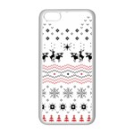 Ugly Christmas Humping Apple iPhone 5C Seamless Case (White) Front