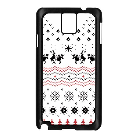 Ugly Christmas Humping Samsung Galaxy Note 3 N9005 Case (Black)