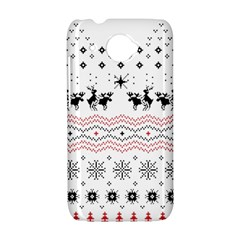 Ugly Christmas Humping HTC Desire 601 Hardshell Case