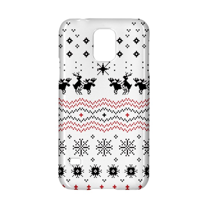 Ugly Christmas Humping Samsung Galaxy S5 Hardshell Case