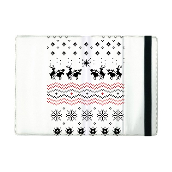 Ugly Christmas Humping iPad Mini 2 Flip Cases
