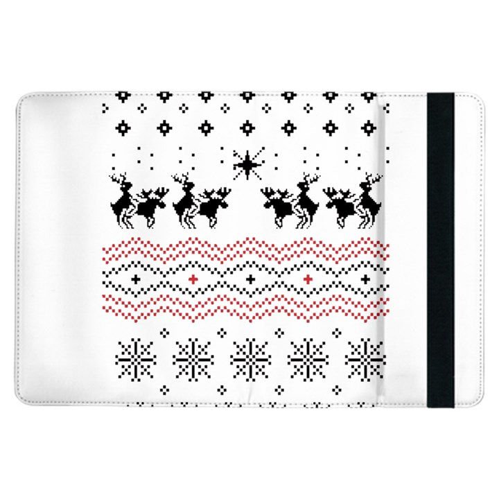 Ugly Christmas Humping iPad Air Flip