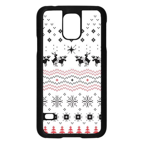 Ugly Christmas Humping Samsung Galaxy S5 Case (Black)