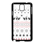 Ugly Christmas Humping Samsung Galaxy Note 3 Neo Hardshell Case (Black) Front