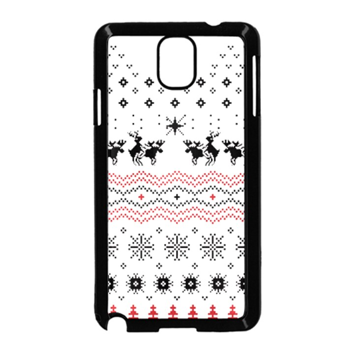 Ugly Christmas Humping Samsung Galaxy Note 3 Neo Hardshell Case (Black)