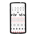 Ugly Christmas Humping Nexus 5 Case (Black) Front