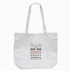 Ugly Christmas Humping Tote Bag (white)